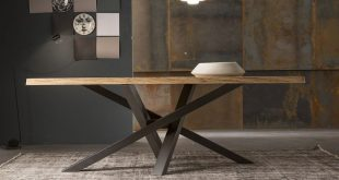 Design rectangular crystal dining table SHANGAI SHANGAI Collection by RIFLESSI |...