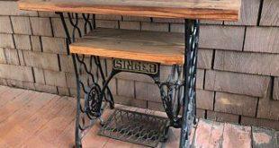 Items similar to Reclaimed Barn Wood table on anti... - #anti #Barn #items #mach...