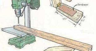 Bohrmaschinen-Support – Holzbearbeitung