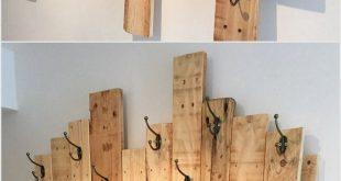 Kleiderschrank aus Holzpaletten – Besuchen Sie My Store @ www.spreesy.com / … #palle … #WoodWorking