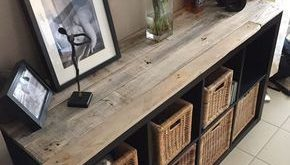 Schmücken Sie ein IKEA-Möbelstück mit Paletten! 20 inspirierende Beispiele …