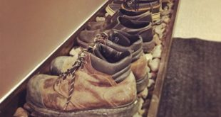 Schuhablage – Schuhmatte – Arbeitsschuhe – Schlamm