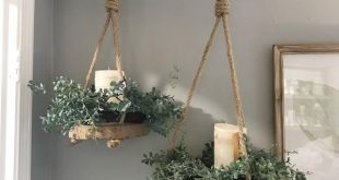 Stellen Sie Ihren Kamin oder Ihren Tisch mit diesen wunderschön beunruhigten Ke … #WoodWorking