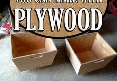 17 Amazing Things You Can Make with Plywood #WoodworkingDiyKids