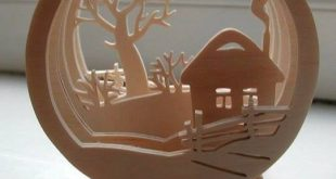 3D Round composition decor for home 3d model Vector plan of the CNC wood, wooden, vector graphics,l