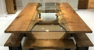 42 By 92 Wood Legs Concrete Dining Room Table