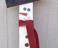 Alles was Sie brauchen sind ein paar Vorräte und Kleber … #christmascrafts #WoodWorking