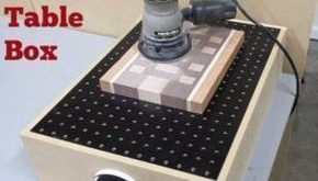 Cool Woodworking Tips - DIY Downdraft Sanding Table Box - Easy Woodworking Ideas...