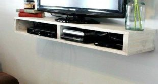 DIY Floating TV Shelf