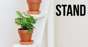 DIY Tiered Plant Stand - Using Scrap Wood