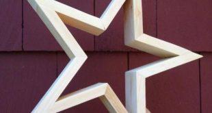 DIY Wood Stars
