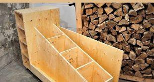 Der ultimative Holzlagerwagen
