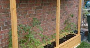 Ein Tomatenhaus ans Haus angelehnt - Bauanleitung zum Selberbauen - 1-2-do.com -...