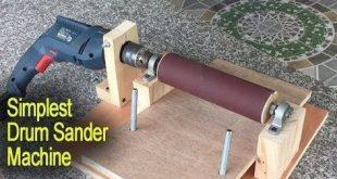 Erstaunlich einfachste Drum Sander Machine DIY – Perfect … – #Amazing #DIY #Drum #Mac … #WoodWorking