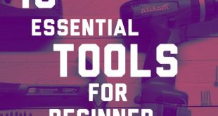 Essential tools for beginner woodworking. Check out these tools you need to get … #WoodWorking