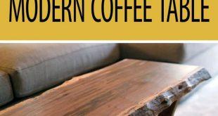 Flat-Pack CNC Modern Coffee Table #woodworking #furniture #inneneinrichtung #de...