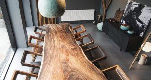 Formel Wood table done in exotic wood called either suar#trembesi#monkeypod#paro...