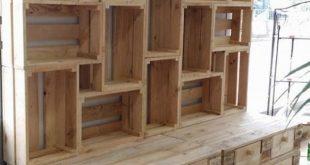 Holzpaletten Ideen für die Holzpalette # diymöbel #WoodWorking #WoodWorking