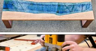 How To Build A Live Edge River Coffee Table