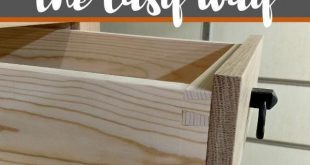 How To Build Dovetail Drawers The Easy Way