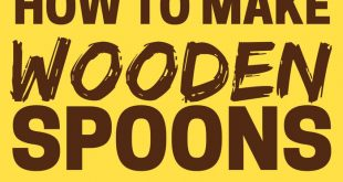 How To Make a Wooden Spoon or Spatula (Hand Carved)