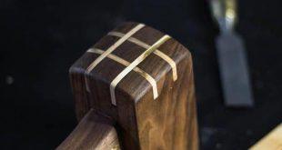 Premium Woodworking Mallet Lie Nielsen Veritas Exotic #woodworkingsupplies #easy...