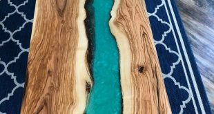 River live edge table coffee or dining kitchen table Olive gorgeous