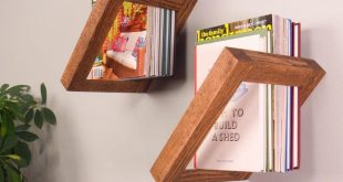 Saturday Morning Workshop: How To Build Floating Bookshelves | The Family Handym...