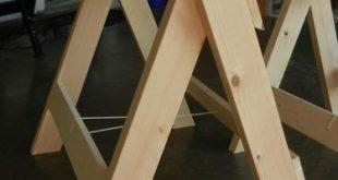 Teds Wood Working – Klappsägepferde – von Rex B @ LumberJocks.com ~ Holzbearbeitung … #WoodWorking