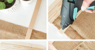 WOOD DIY : Create a nice couch arm wrap! DIY BOIS : Créez un joli support pour … #WoodWorking