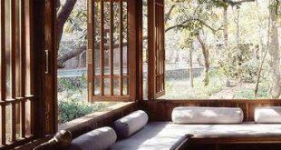 unglaublich 55 Ideen für Erkerfenster the function with modernem … #WoodWorking